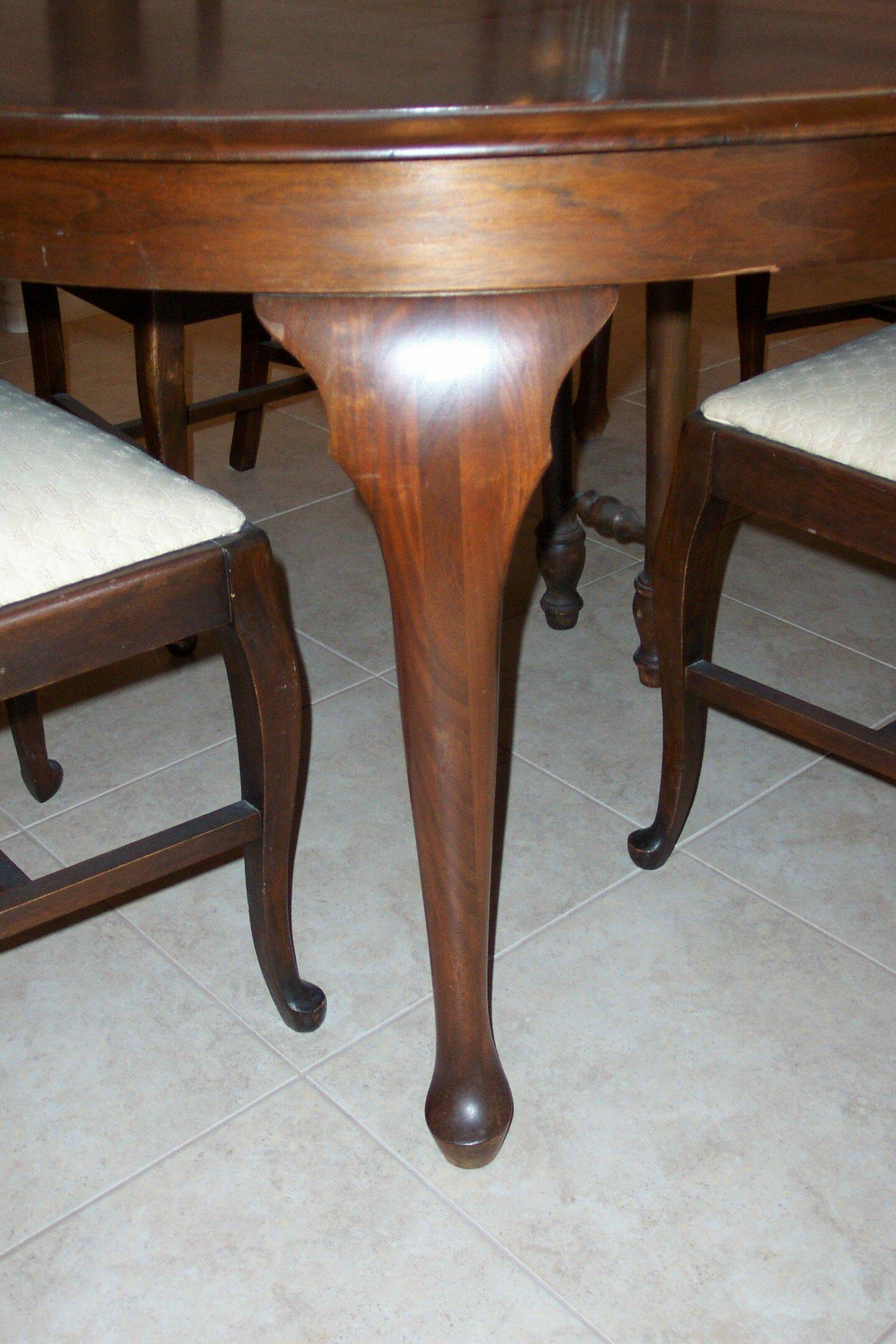 dining table antique dining table cabriole legs